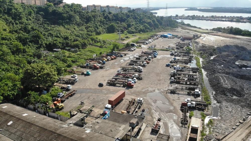 Estacionamento provisório para caminhões ainda não foi definido pela Codesp