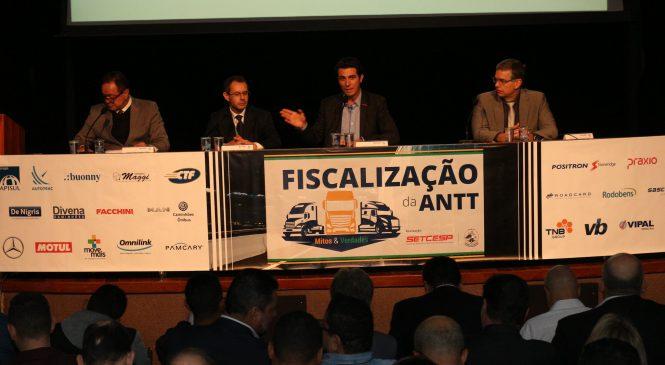 Evento sobre a Fiscalização da ANTT é realizado no SETCESP