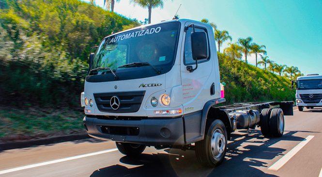 Mercedes-Benz lidera as vendas de caminhões leves no mercado brasileiro em 2019