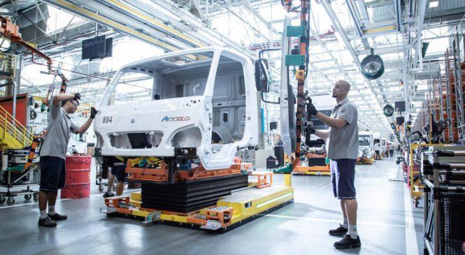 Produção 4.0 da Mercedes-Benz é apresentada na Feira da Indústria do Pará
