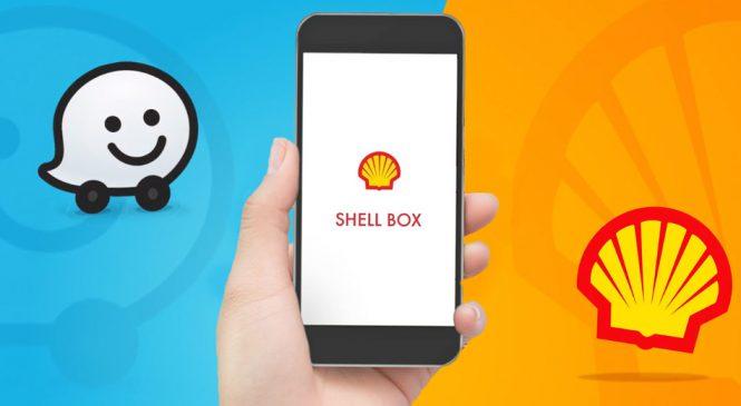 Marca Shell e Waze firmam parceria para melhorar a experiência do motorista