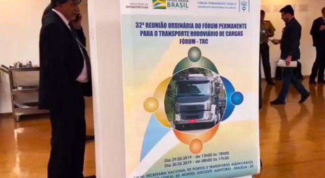 32º Fórum TRC debate medidas desenvolvidas para facilitar a vida do caminhoneiro