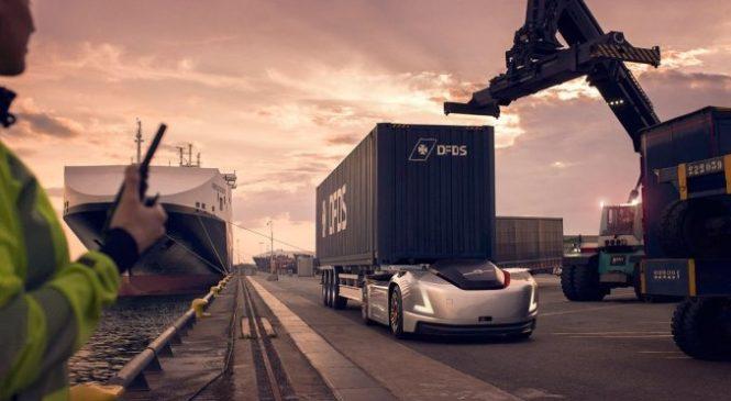 VERA, veículo de carga autônomo e elétrico da Volvo, inicia suas operações