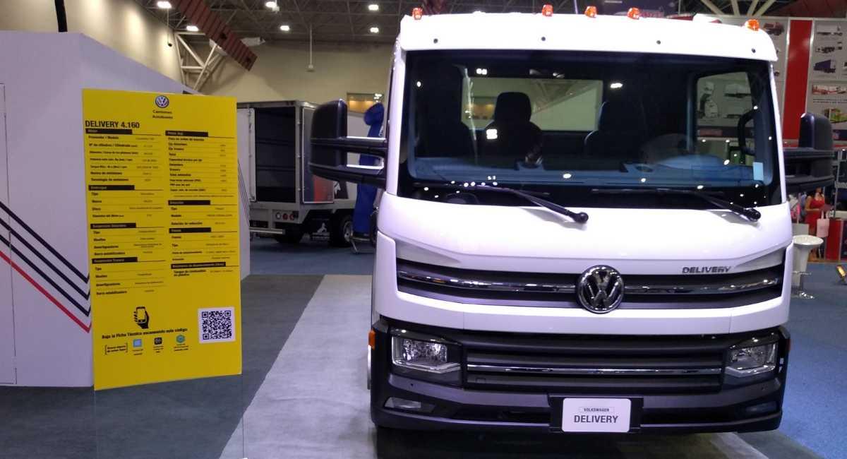 Volkswagen Delivery 4.160: novo modelo chega ao México