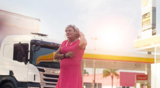 Shell lança campanha com Afrodite: uma caminhoneira trans