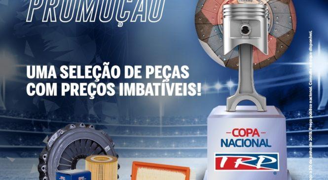 Promoção Copa Nacional TRP oferece até 40% de desconto