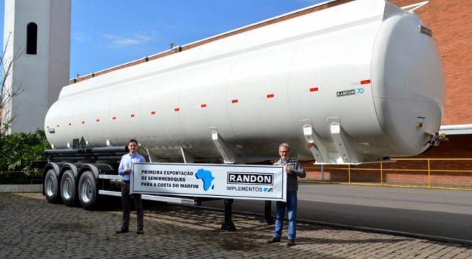Randon Implementos faz primeira exportação de semirreboques para a Costa do Marfim.