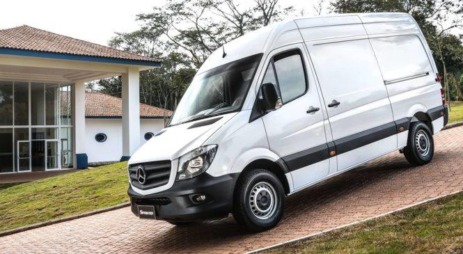 Furgão Sprinter é atração da Mercedes-Benz  na Fispal Food Service
