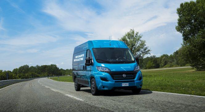 Fiat Ducato Electric: O novo furgão elétrico chega com 360 KM de autonomia