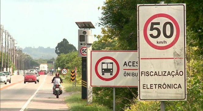 Ministro anuncia acordo para instalar 1 mil radares de velocidade em rodovias federais