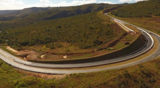 Minas Gerais recebe obra inédita em rodovia