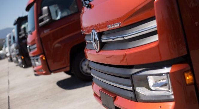 VWCO lideram três dos cinco segmentos do mercado de caminhões no semestre
