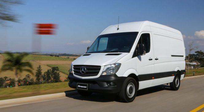 Mercedes-Benz Sprinter avança na liderança