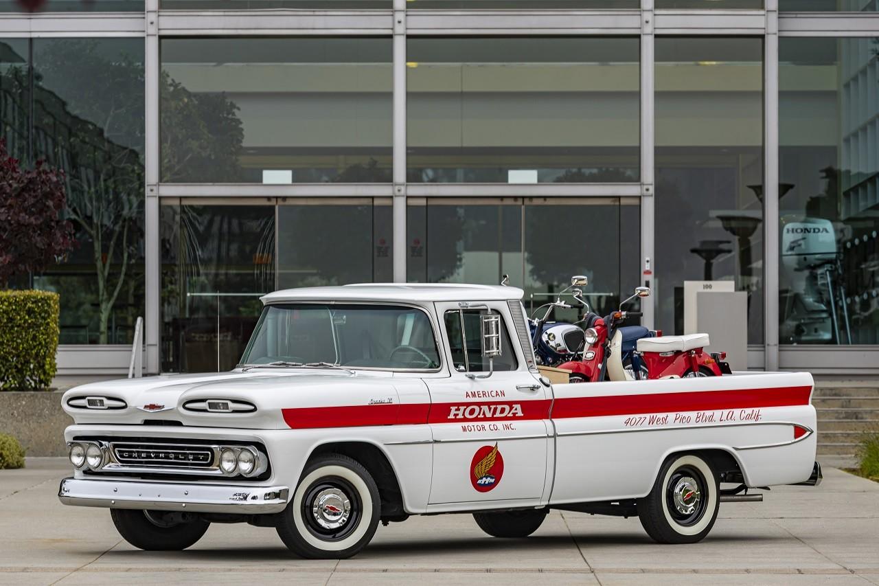 Honda celebra seu 60º aniversário nos Estados Unidos com um Chevrolet restaurado