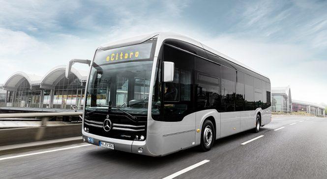 Mercedes-Benz inicia a exportação do ônibus elétrico eCitaro