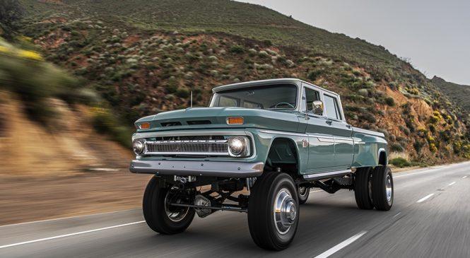 Chevrolet 'Ponderosa' by Rtech: A PICK-UP que quer encarar a FORD F-150 RAPTOR em potência