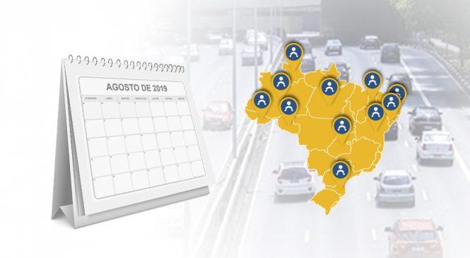 Agosto é o mês de vencimento do Seguro DPVAT em diversos estados.