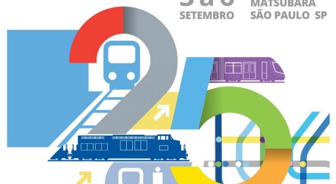 III Seminário de Infraestrutura de Transporte e Ferroviário integra programação da 25° Semana de Tecnologia Metroferroviária