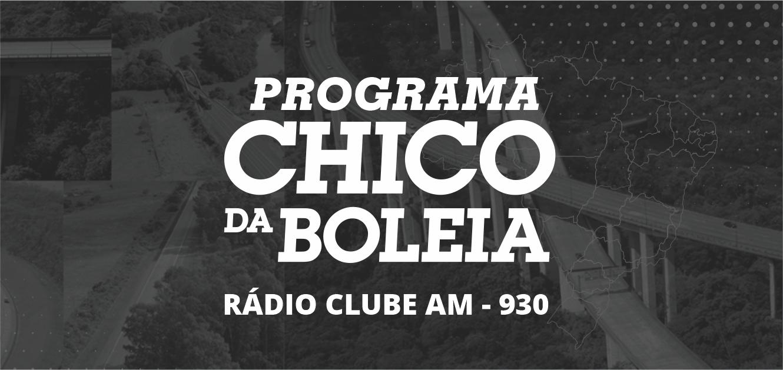 Programa Chico da Boleia 04/11/2019