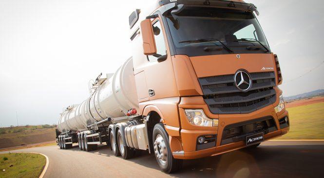 Novo Actros Mercedes-Benz é o caminhão mais seguro do Brasil