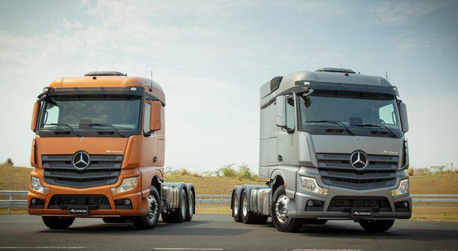 Mercedes-Benz lança Novo Actros: caminhão mais inteligente, conectado e eficiente do mercado brasileiro