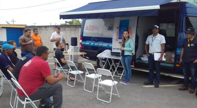 Caminhoneiros são foco de campanha da ANTT em SC