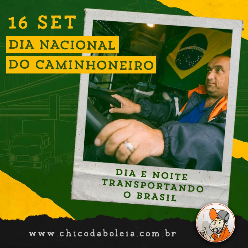 16 de setembro: Dia Nacional do Caminhoneiro