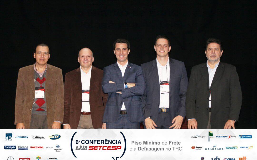6ª Conferência do SETCESP reúne debates sobre a defasagem e a tabela do frete