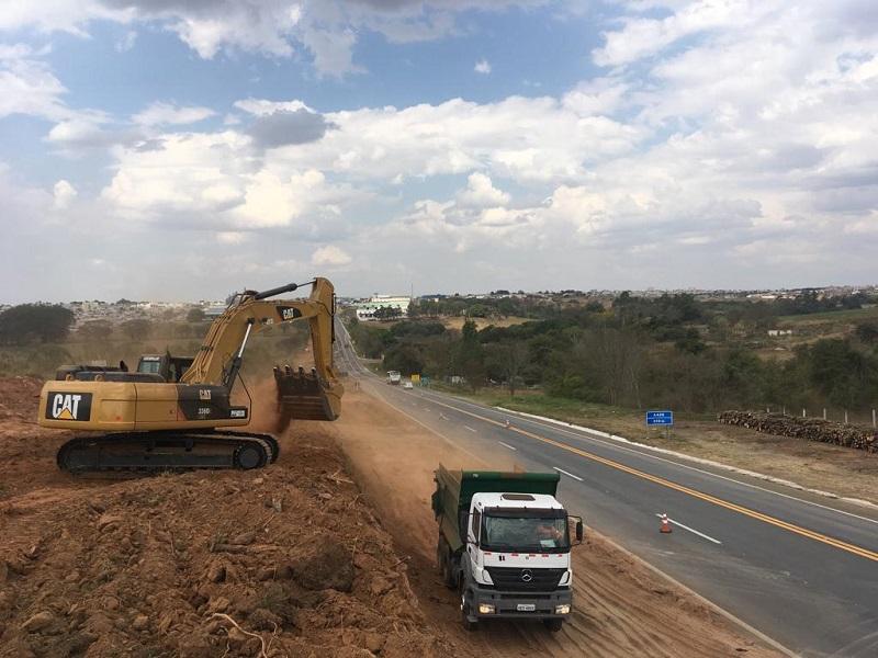 Obras de duplicação da MG-050 já começaram na região de Passos (MG)