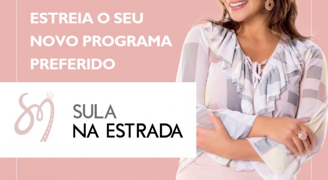 Sula Miranda está com música nova e lança programa dedicado aos caminhoneiros