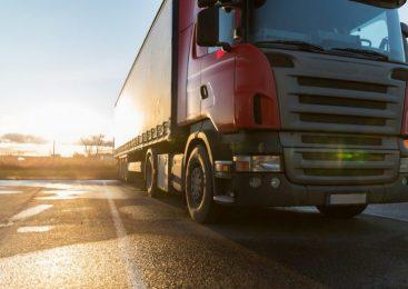 Qual é a cor predominante nos veículos de carga?