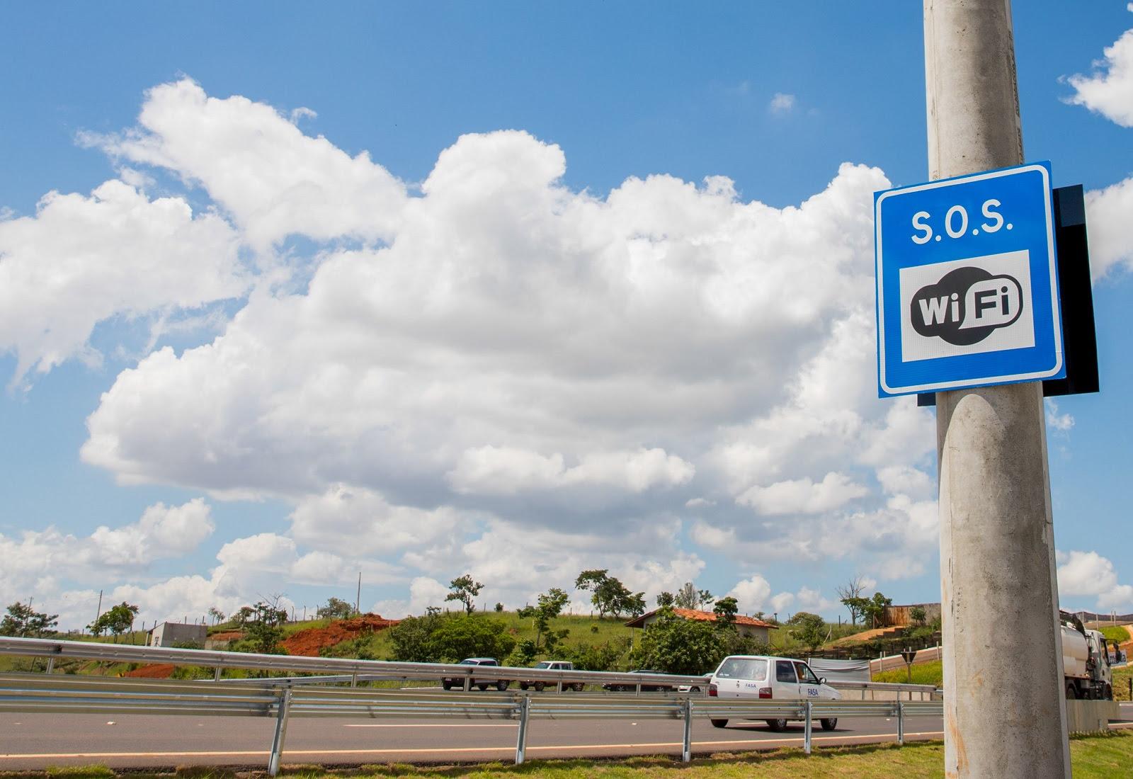 SP passa a ter quase mil quilômetros de rodovias equipadas com wi-fi para atendimento aos motoristas