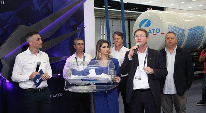 Librelato sorteou Semirreboque Graneleiro durante Fenatran 2019