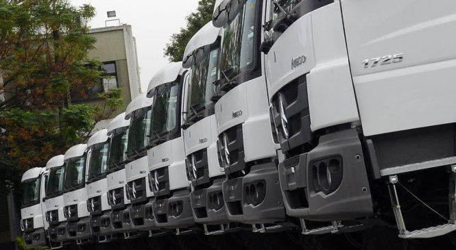 Venda de caminhões deve superar 102 mil unidades em 2019