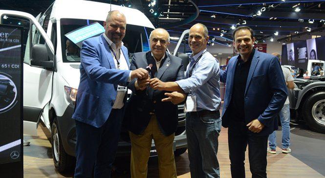 Braspress adquire 40 furgões da Nova Sprinter na Fenatran