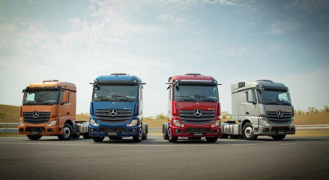 Vivo conecta todos os dispositivos IoT do novo caminhão Mercedes-Benz Actros