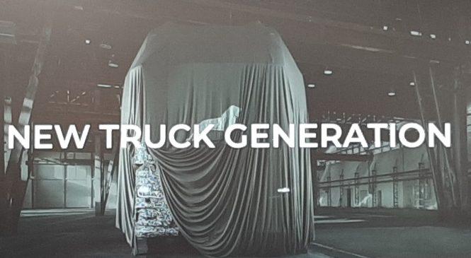 MAN lança uma nova geração de Caminhões em fevereiro de 2020
