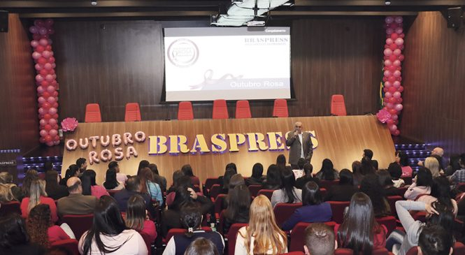 Braspress realiza a campanha Outubro Rosa