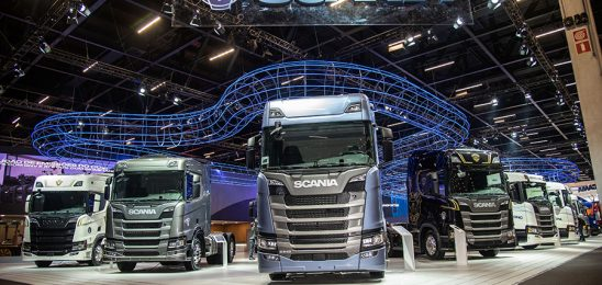 Scania traz Nova Geração e inicia venda de caminhões movidos a gás e biometano na Fenatran 2019