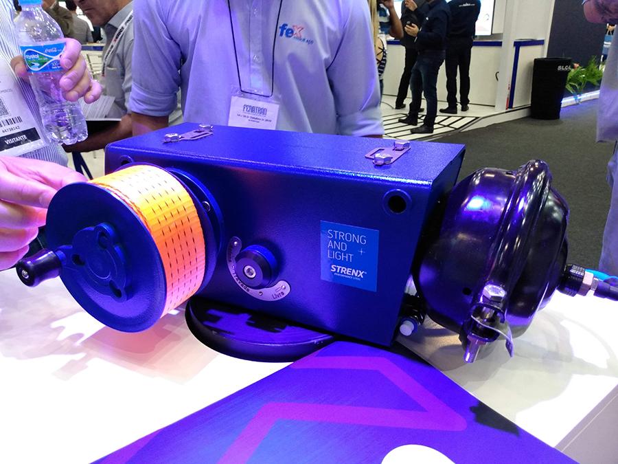 SSAB e FEX apresentam catraca pneumática produzida em aço de alta resistência na Fenatran 2019