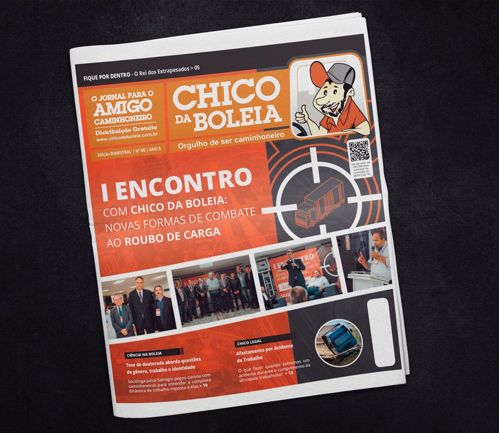 88ª Edição Nacional – Jornal Chico da Boleia
