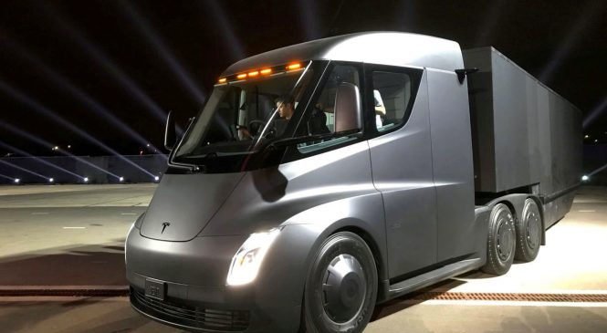 Tesla Semi: o peso pesado que acelera como esportivo