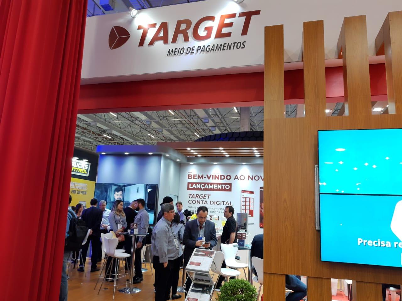 Target MP lança conta digital para caminhoneiros na Fenatran