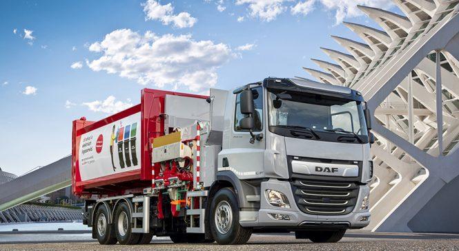 DAF CF Electric com chassi rígido 6×2 está disponível na Holanda