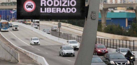 Rodízio de veículos será suspenso em São Paulo nesta sexta-feira (15)