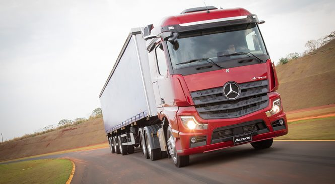 Consórcio Mercedes-Benz lança Plano Agro para aquisição do Novo Actros