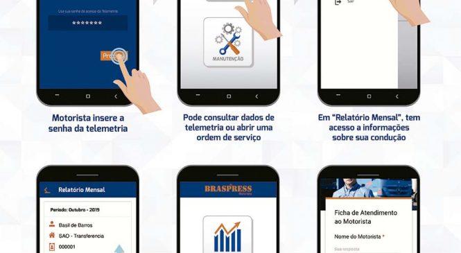 Braspress lança o Aplicativo do Motorista