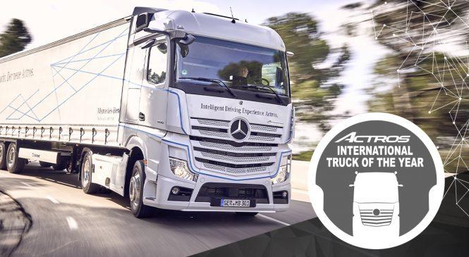 Mercedes-Benz Actros escolhido como Caminhão do Ano 2020