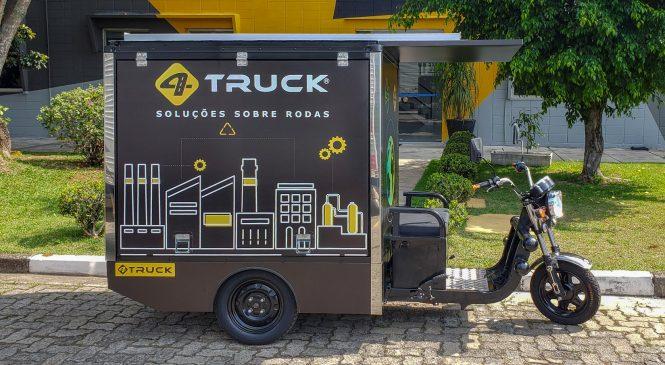 4TRUCK lança baú de alumínio para triciclos elétricos