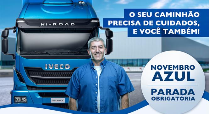PARADA OBRIGATÓRIA: Novembro Azul! Iveco disponibiliza cartilha com dicas!